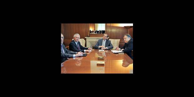 Samaras nomme un gouvernement de coalition dominé par la droite - La Libre