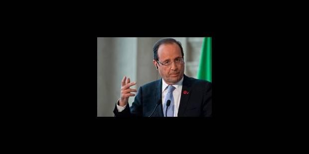 La douche froide, pour Hollande
