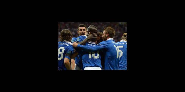 Super Mario expédie l'Italie en finale - La Libre