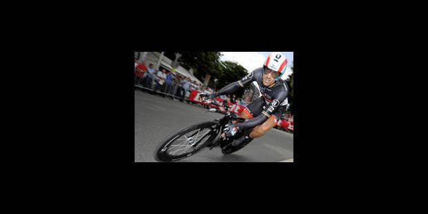 Cancellara remporte le prologue à Liège - La Libre