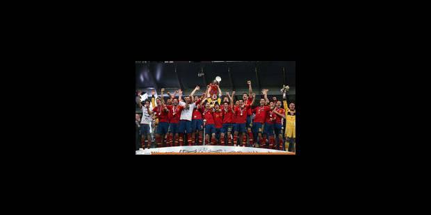 L'Espagne bat l'Italie et réalise un triplé historique ! - La Libre