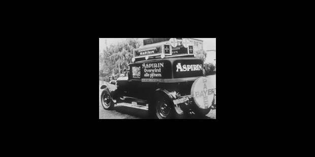 Bayer, l'inventeur allemand de l'aspirine - La Libre