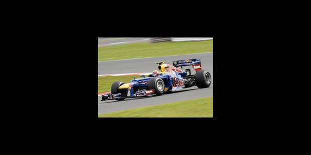 Mark Webber s'impose au GP de Silverstone - La Libre