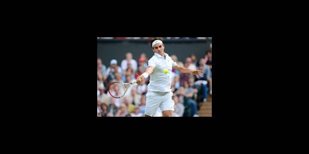 Wimbledon: Federer, Djokovic, Murray et Tsonga en demi-finales