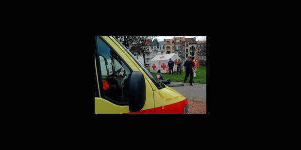 La Croix-Rouge agréée pour l'Aide médicale urgente - La Libre