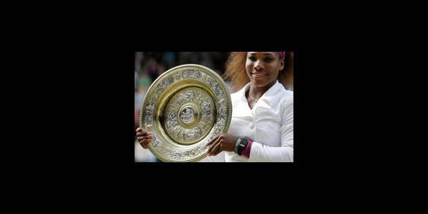 Serena remporte son 5e Wimbledon