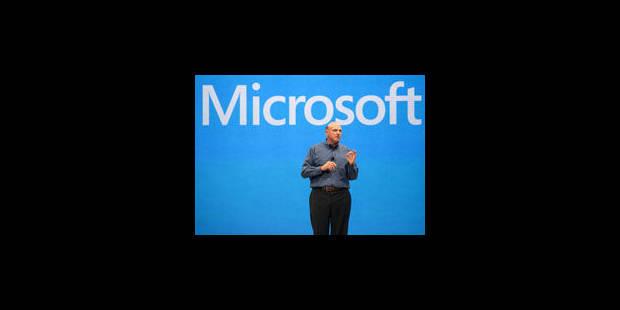 Nouvelle enquête contre Microsoft - La Libre