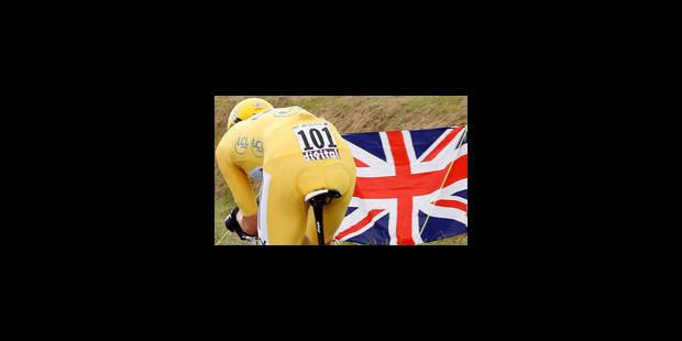 Bradley Wiggins, premier Britannique à remporter le Tour de France