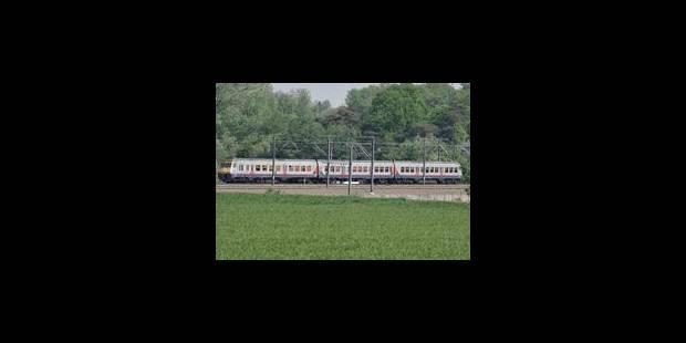 Circulation des trains perturbée ce vendredi après-midi - La Libre