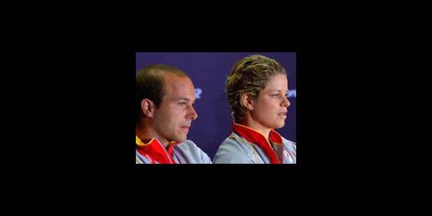 Rochus et Clijsters ne feront pas la paire : le COIB déçu - La Libre