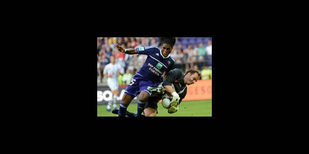 Service minimum pour Anderlecht, Mons rejoint au score à la dernière minute - La Libre