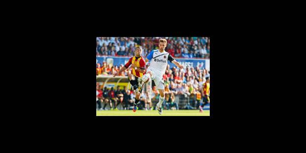 Des Malinois courageux accrochent le Club de Bruges (3-3)