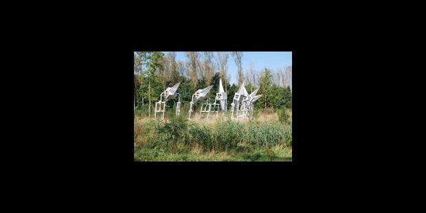 Un lieu d'art unique en son genre, écolo, artistique, anarchique, utopique - La Libre