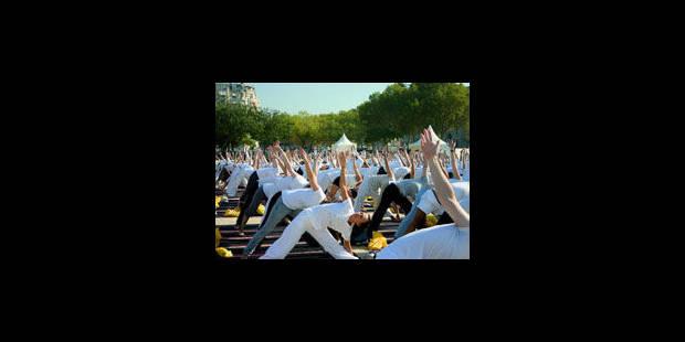 Du yoga à gogo - La Libre