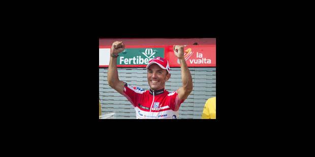 Rodriguez consolide son maillot rouge à la Vuelta - La Libre