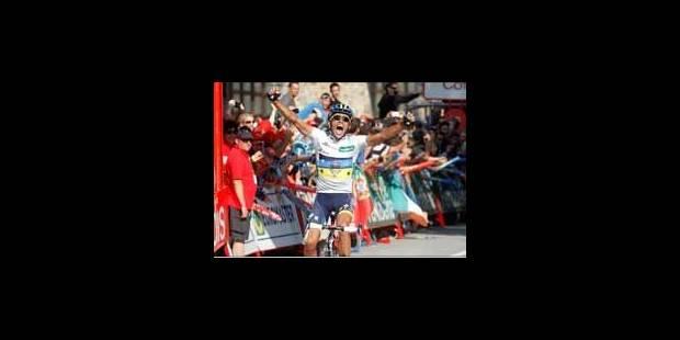 Alberto Contador remporte la Vuelta - La Libre