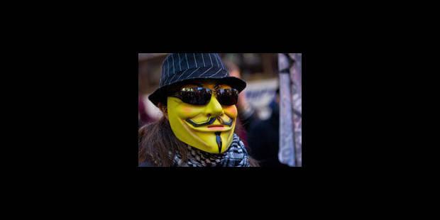 Anonymous se venge du FBI - La Libre