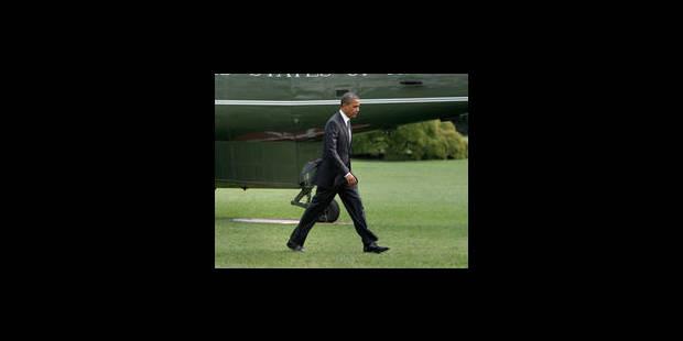 """La Maison Blanche exhorte le Congrès à empêcher le """"mur budgétaire"""""""