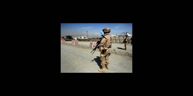 Quel bilan pour les forces belges en Afghanistan ? - La Libre