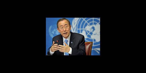 Syrie-Turquie: mise en garde de Ban Ki-moon - La Libre