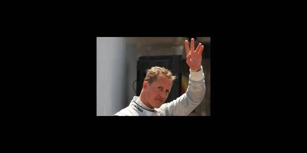 Schumacher : Une immense carrière en trois actes - La Libre