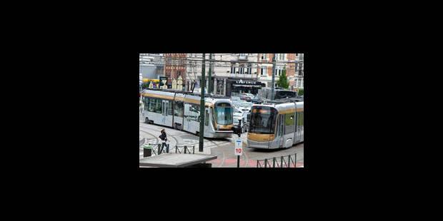 Stib : incident sur les lignes 7 et 25 - La Libre