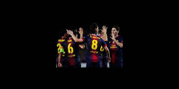 Le Barça au bout du suspense, Chelsea battu à Donetsk - La Libre