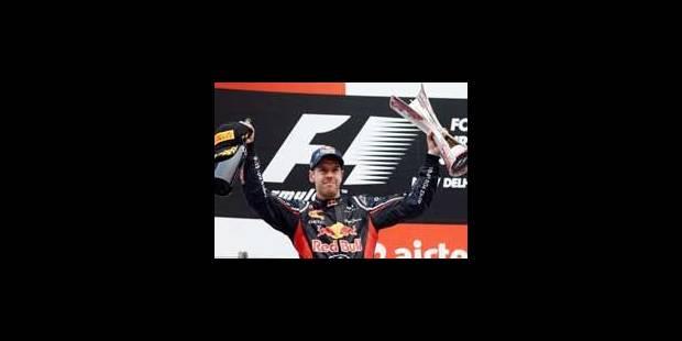 GP d'Inde: 4ème victoire d'affilée de Vettel - La Libre