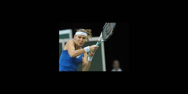Lucie Safarova offre la Fed Cup à la République tchèque - La Libre