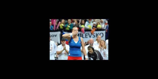 Avantage République Tchèque en finale de la Fed Cup - La Libre