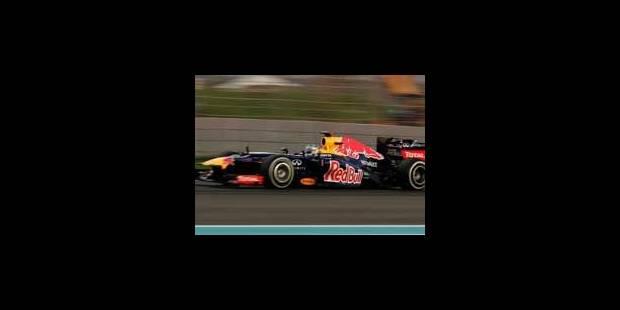 Vettel le plus rapide de la 1ème séance des essais - La Libre