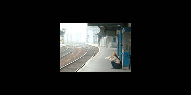 Le rail perturbé entre Bruxelles-Midi et Charleroi-Sud durant la Toussaint - La Libre