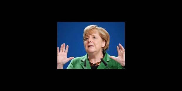 Merkel à Bruxelles et Londres pour sortir l'Europe de l'ornière - La Libre