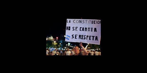Les Argentins manifestent à travers le pays contre Cristina Kirchner - La Libre