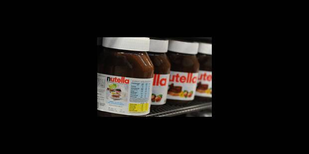 """Une taxe """"Nutella"""", contre l'excès d'huile de palme ? - La Libre"""