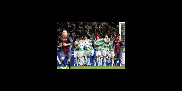 Le Celtic fait chavirer le Barca