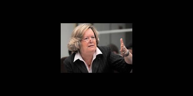 Anne-Marie Lizin comparaîtra en correctionnelle - La Libre