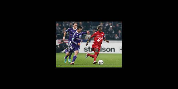 Anderlecht à l'usure (1-0) - La Libre