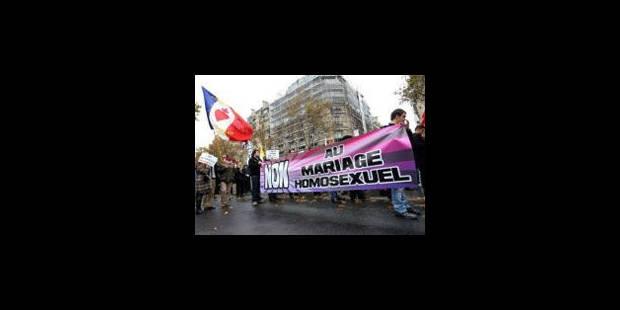 Manifestations violentes contre le mariage gay en France - La Libre