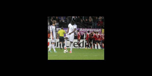 Anderlecht rate le coche face à l'AC Milan (1-3) - La Libre