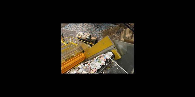 Recyclis ou le tri automatisé - La Libre