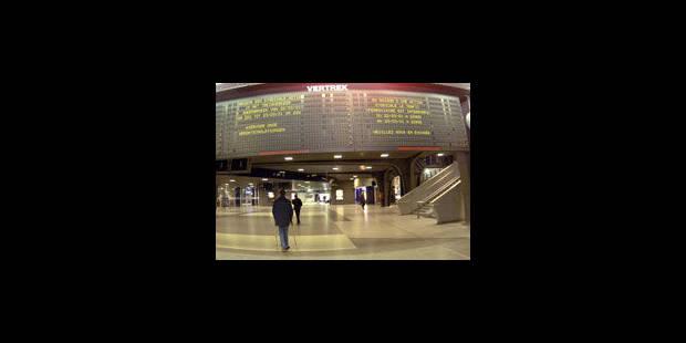 SNCB : perturbations sur la ligne Bruxelles-Charleroi - La Libre