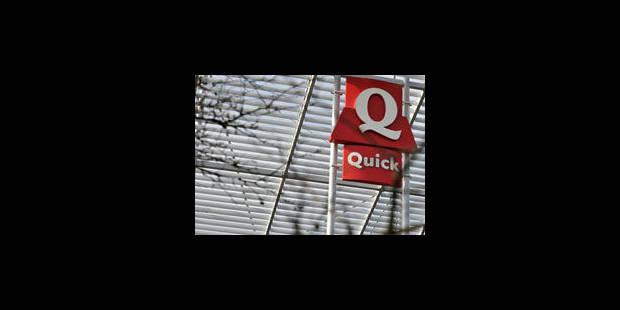 Pas de halal dans les Quick belges - La Libre