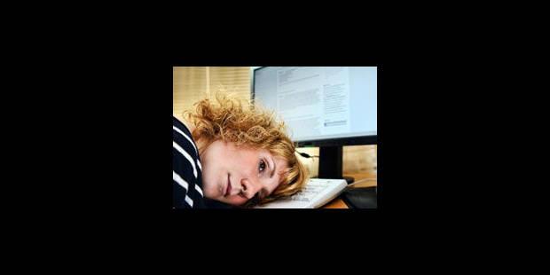 Une personne sur trois stressée au travail - La Libre