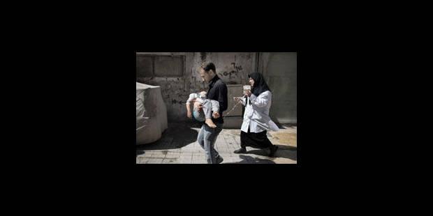 Syrie: un obus fait un carnage dans une école de Damas - La Libre