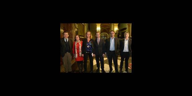 La N-VA présente ses échevins à Anvers - La Libre