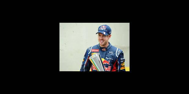 Sebastian Vettel élu Sportif européen de l'année par les agences de presse - La Libre
