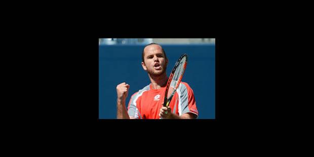 Auckland: Xavier Malisse en 1/4 de finale