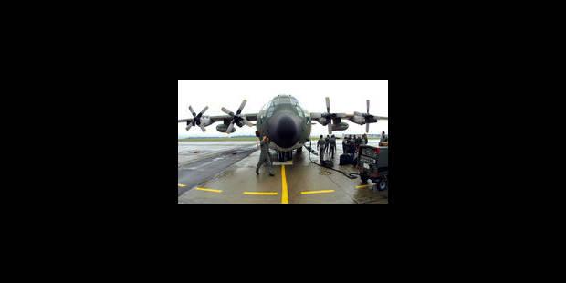 La Belgique au Mali: deux C-130 et un hélicoptère médicalisé - La Libre