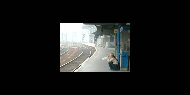 Le rail a connu 17 mouvements de grève en 2012 - La Libre